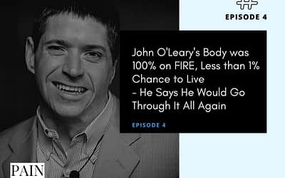Interview with John O'leary Whose Body was 100% on Fire